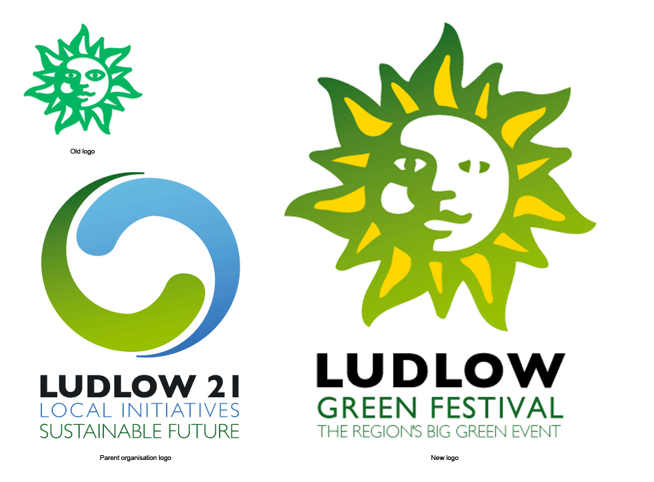 Ludlow Green Fair logo update